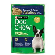 Sachê Dog Chow Adultos Raças Pequenas Frango e Arroz 100g