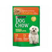 Sachê Dog Chow Adultos Raças Pequenas Salmão e Arroz 100g