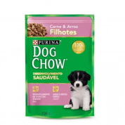 Sachê Dog Chow Filhotes Carne e Arroz 100g