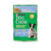 Sachê Dog Chow Filhotes Raças Pequenas Frango e Arroz 100g