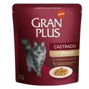 Imagem - Sachê Ração Guabi Gran Plus Gatos Castrados Frango 50g