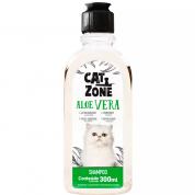 Shampoo Cat Zone Aloe Vera Gatos 300ml