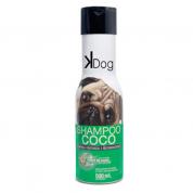 Shampoo Coco Limpeza Profunda e Restauradora Kdog - 500ml