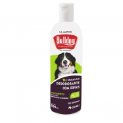 Shampoo Desodorante Gatos e Cachorros Bulldog com Ervas Coveli 500ml