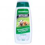 Shampoo Matacura Antisséptico e Bactericida Gatos e Cachorros 200ml
