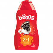 Shampoo Pet Society Beeps 2 em 1 500ml