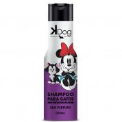 Shampoo Sem Perfume Kdog Disney Gatos 500ml