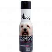 Shampoo Tonalizante Pelos Claros Kdog Cachorros 500ml