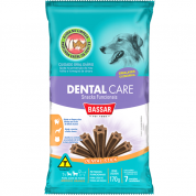 Snack Dental Care Cachorros Raças Médias Bassar Pet Food 170g