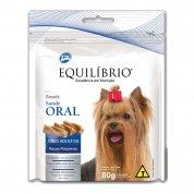 Snack Equilíbrio Saúde Oral Cães Adultos Raças Pequenas 80g