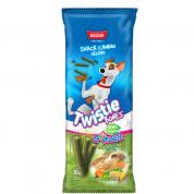 Snack Palito Canudinho Veggie Twistie Bones Bassar Cachorros 30g