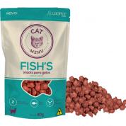 Snacks para Gatos Fish's sabor Peixe Cat Menu - 40g