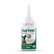 Solução Limpeza Otológica Aurivet Clean 50ml