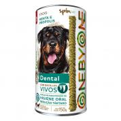 Sticks Cachorros Spin Pet Dental Menta e Própolis 150g