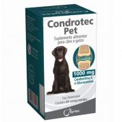 Suplemento Alimentar Gatos e Cachorros Condrotec 1000mg 60 comprimidos