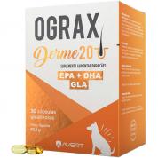 Suplemento Alimentar Ograx Derme 20 Cachorros 30 Cápsulas