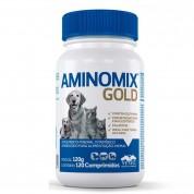 Suplemento Aminomix Gold 120 Comprimidos Cães e Gatos