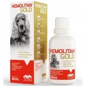 Suplemento Para Animais Hemolitan Gold 60ml