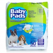 Tapete Higienico Baby Pads 50 Unidades