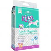 Tapete Higiênico Cachorros King Pads 12 unidades