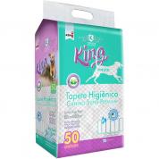 Tapete Higiênico Cachorros King Pads 50 unidades