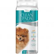 Imagem - Tapete Higiênico Clean Pads Super Premium 85x60 com 30 Unidades