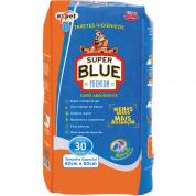 Tapete Higiênico Super Blue Premium 30 unidades