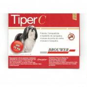 Imagem - Tiper C Repelente Anti-Pulgas Carrapatos e Moscas Para Cães Até 15Kg