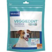 Tiras Mastigáveis VeggieDent Fr3sh Virbac Cachorros Pequeno Porte