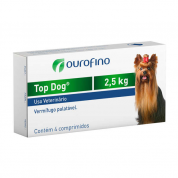 Top Dog Cães 4 Comprimidos Cães de até 2,5kg