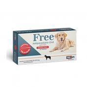 Vermífugo Free Gatos e Cachorros 330mg 2 comprimidos