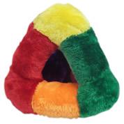 Brinquedo Pelúcia Triângulo Pirâmide Cães