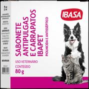 Sabonete Para Cães e Gatos Antipulgas Ibasa 80g
