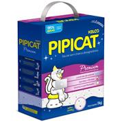 Imagem - Areia Higiênica para Gatos PipiCat Premium 5kg