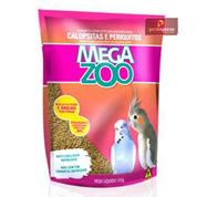Ração Megazoo Calopsita e Periquitos 350g