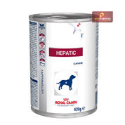 Ração Royal Canin Veterinary Hepatic Canine Lata 420g