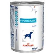 Ração Úmida Royal Canin Hypoallergenic Cães Lata 400g