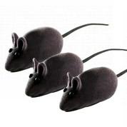 Brinquedo Ratinho Camurça Cores Sortidas Para Gatos