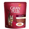 Alimento Úmido Sachê Gran Plus Gatos Adultos Salmão 50g