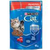 Alimento Úmido Sachê Purina Cat Chow Filhotes Carne ao Molho 85g