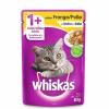 Alimento Úmido Whiskas Sachê Frango ao Molho Gatos Adultos 85g