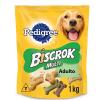 Biscoito Biscrok Pedigree Multi 1kg