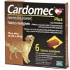 Cardomec Plus Cães 23 a 45kg 6 Tabletes - Marrom