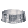 Comedouro de Alumínio Leve Médio 1200ml