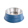Comedouro Pesado Alumínio Azul Médio 1,2 litros