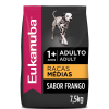 Ração Eukanuba Cães Adultos Raças Médias 12kg