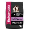 Ração Eukanuba Cães Adultos Raças Pequenas 3kg