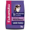 Ração Eukanuba Cães Filhotes Raças Pequenas 1kg