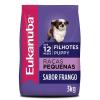 Ração Eukanuba Cães Filhotes Raças Pequenas 3kg