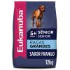 Ração Eukanuba Cães Sênior Raças Grandes 12kg